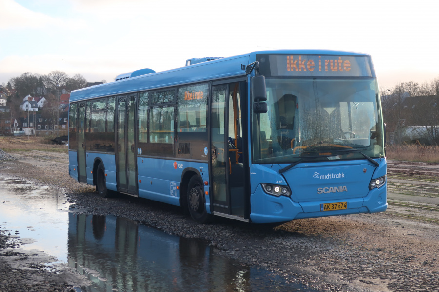 Umove 436/AK37674 på Gammelhavn i Vejle den 1. januar 2020