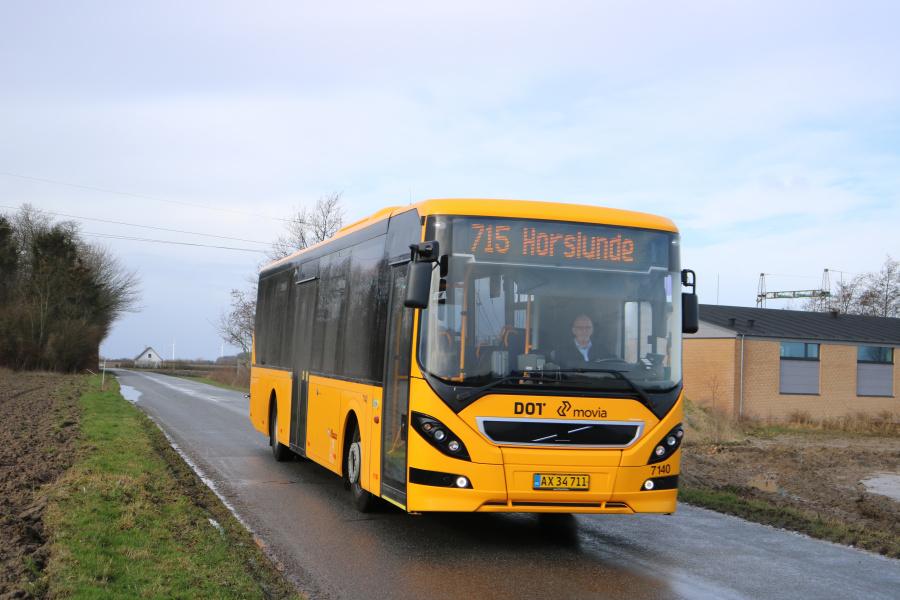 Kruse 7140/AX34711 på Præstegårdsvej nær Købelev den 10. februar 2020