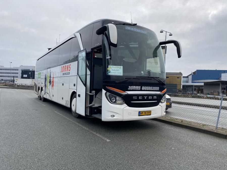 Jørns Busrejser 6322/AP78595 i Københavns Lufthavn, Kastrup den 21. december 2019