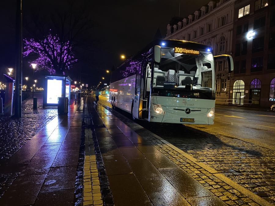 DD Coach DD9/CN41779 på Norra Vallgatan i Malmö den 12. januar 2020