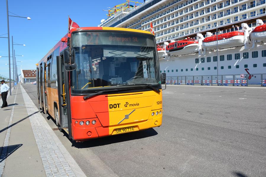 Arriva 1249/UR90714 ved Oceankaj i København den 7. juni 2018