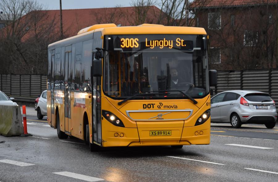 Nobina 6115/XS89914 på Herlev Ringvej i Herlev den 28. januar 2020