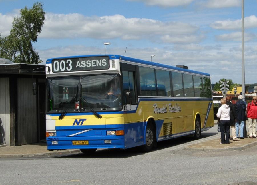 Havndal Rutebiler OS90031 på Mariager Rtb. den 28. juni 2007