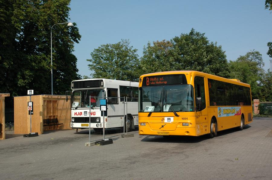 Arriva 1684/TS94893 ved Svanemøllen Station i København den 3. juli 2010