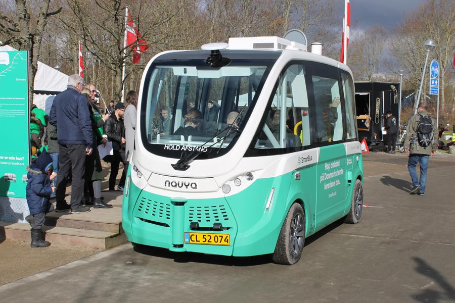 Smartbus CL52074 på Astrupstien i Aalborg den 5. marts 2020