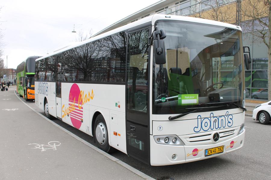 Johns Turistfart 7/CN41782 på Ingerslevsgade i København den 1. marts 2020