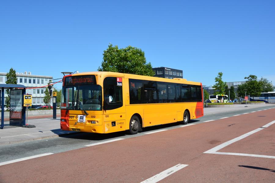 Arriva 1252/TD91375 ved Herlev St. den 28. juni 2018