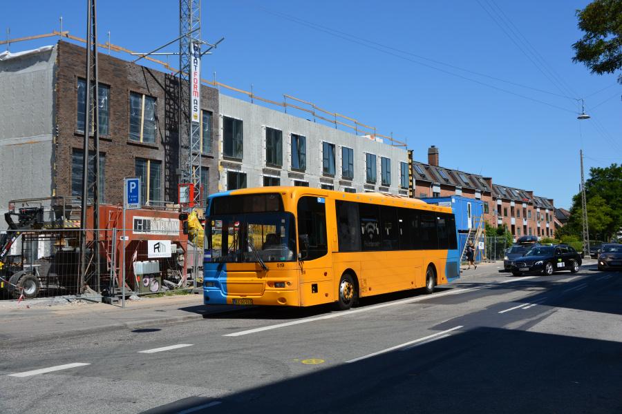 Skovlunde Busser BZ60933 ved Vanløse St. den 28. juni 2018