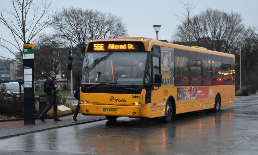 Keolis 2495/AF89997 ved Malmparken Station den 27. januar 2020