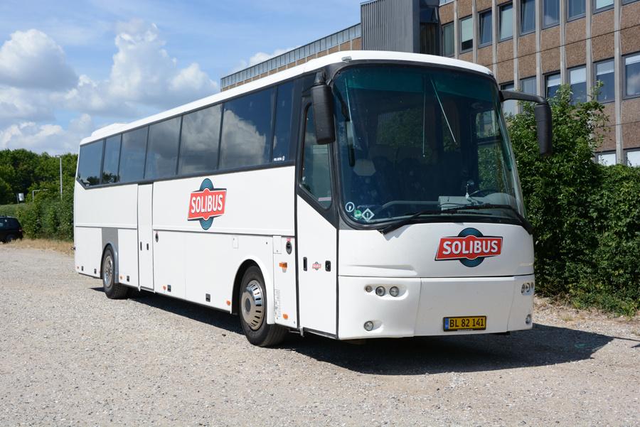 Solibus BL82141 ved Bellahøj i København den 11. juli 2018