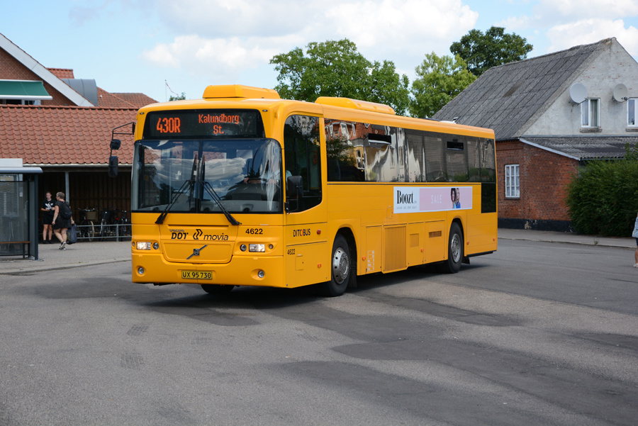 Ditobus 4622/UX95730 ved Høng Station den 12. juli 2018