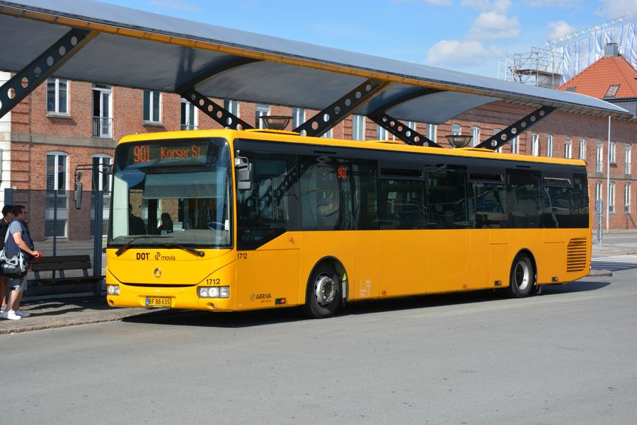 Arriva 1712/BF88635 ved Slagelse Station den 12. juli 2018