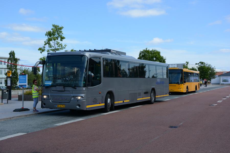 Fladså Turist 74/BB44752 ved Herlev Station den 14. juli 2018