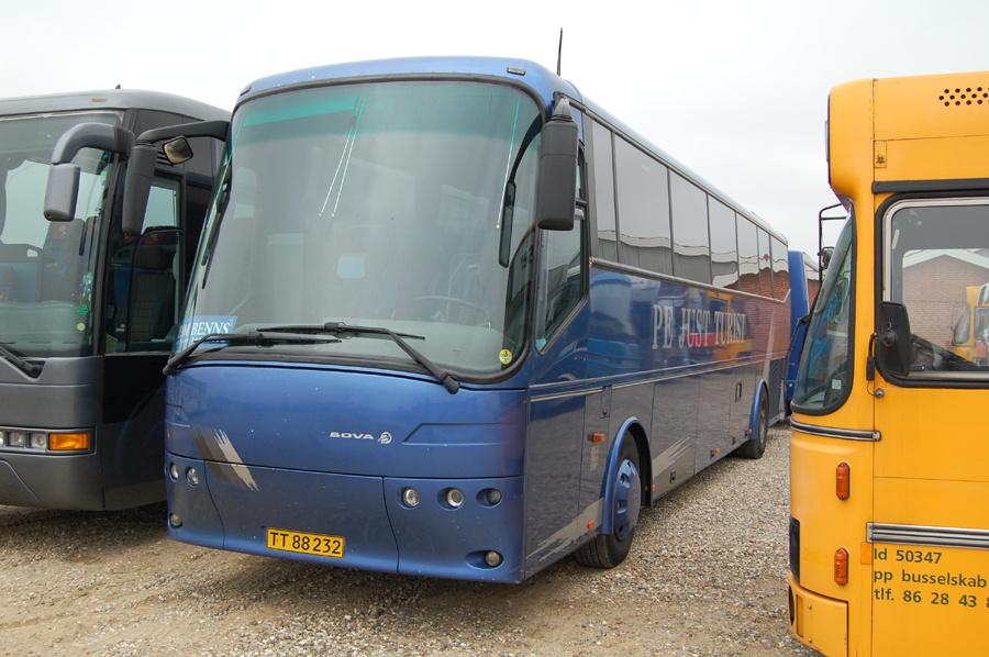 Just Turist TT88232 hos Dansk Busrenovering i Tørring den 21. marts 2009