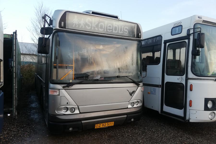 Terndrup Turistbusser OZ92511 i Viborg den 11. december 2019