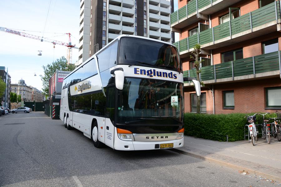 Englunds Busser VH91869 på Platanvej på Frederiksberg den 21. maj 2018
