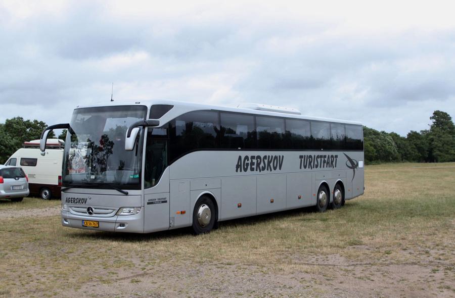 Agerskov Turistfart CB56767 ved Ribe Vikinge Center syd for Ribe den 4. juli 2019