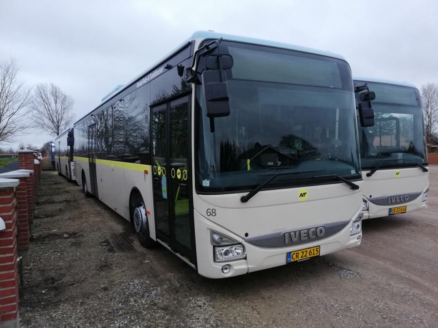 Faarup Rute- og Turistbusser 68/CR22615 i Faarup den 19. marts 2020