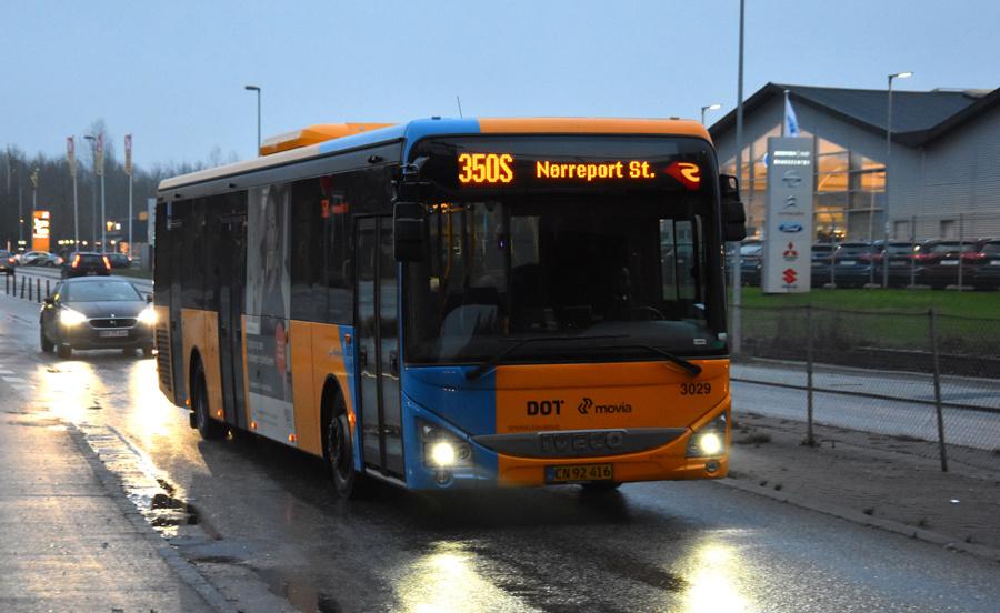 Anchersen 3029/CN92416 ved Malmparken Station i Ballerup den 27. januar 2020