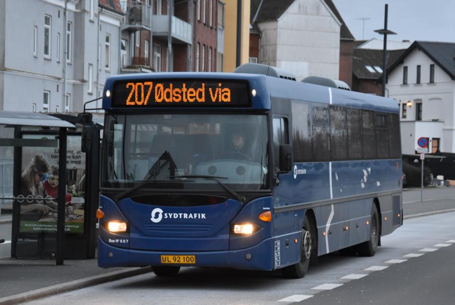 Umove 607/UL92100 i Kolding den 12. februar 2020