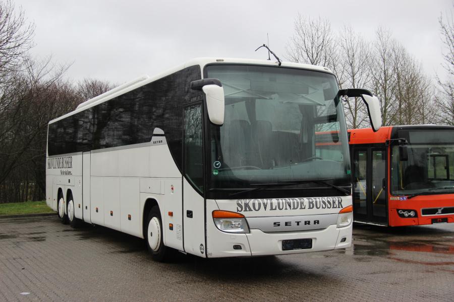 Ex. Skovlunde Busser 12 ved Bus Center Vest i Kolding den 12. januar 2020