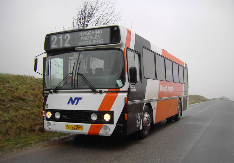 Bendt Krogh 18/OJ92269 på Mors den 2. januar 2007