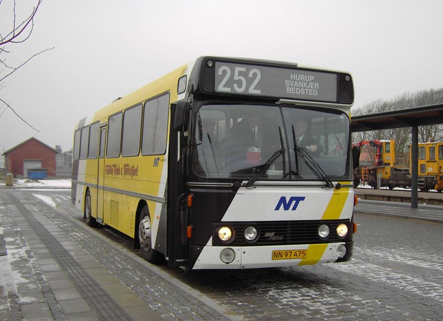 Sydthy Rute- og Turistfart NN97475 i Hurup Thy den 2. januar 2007