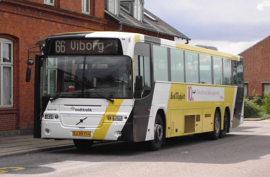 Bent Thykjær 307/SJ89714 i Aalestrup den 14. august 2008