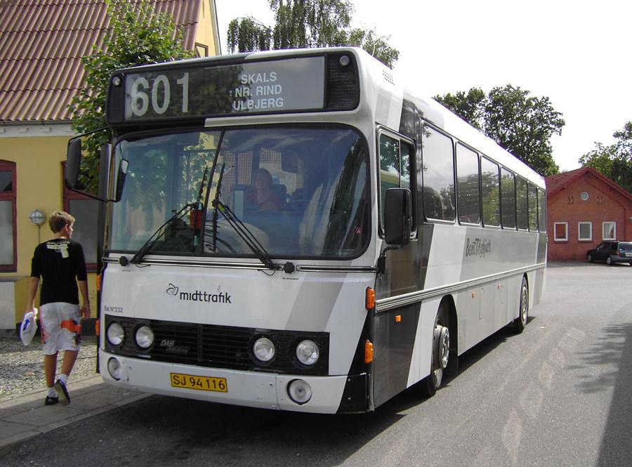 Bent Thykjær 332/SJ94116 i Skals den 14. august 2008