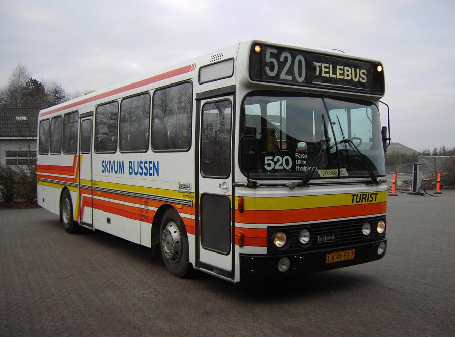 Vesthimmerlands Rute- og Turistbusser LX91517 i Aars den 2. januar 2007