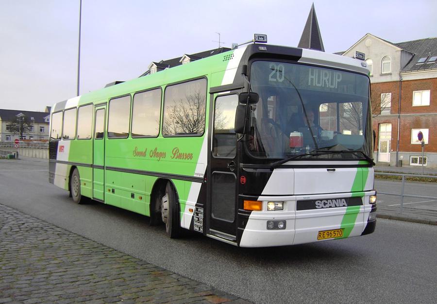 Svend Aages Busser 11/RE96570 i Thisted den 2. januar 2007