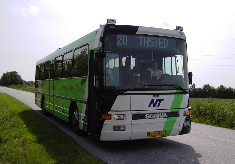 Svend Aages Busser 11/RE96570 nær Hurup Thy den 21. juni 2007