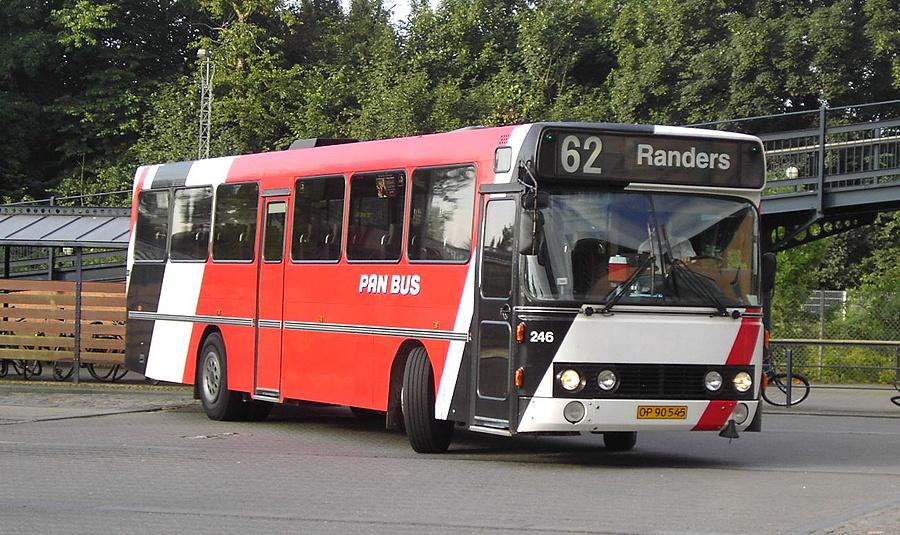 Pan Bus 246/OP90545 i Viborg den 23. juli 2007
