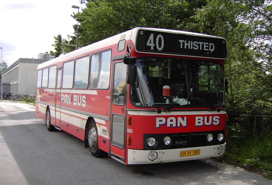 Pan Bus 180/OK91385 i Skive den 23. juli 2007