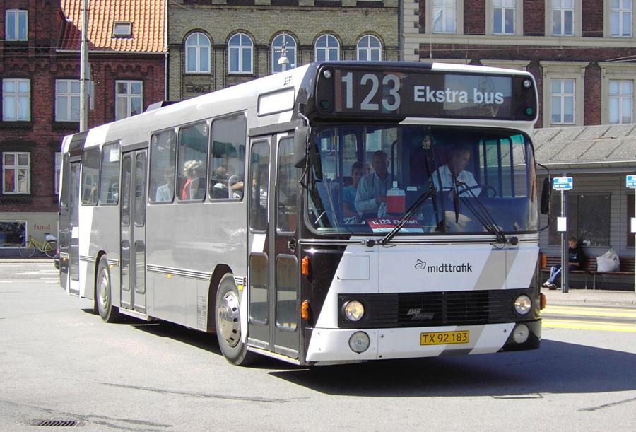 Mortens Busser TX92183 i Århus den 3. august 2007