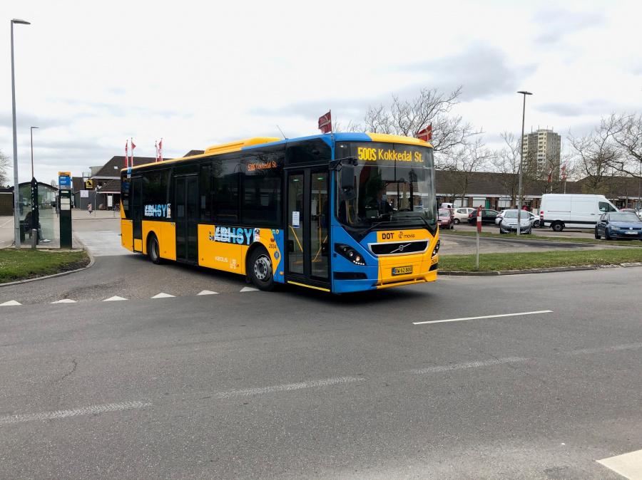 Keolis 2634/BW62800 ved Brøndby Strand Centrum den 29. april 2020