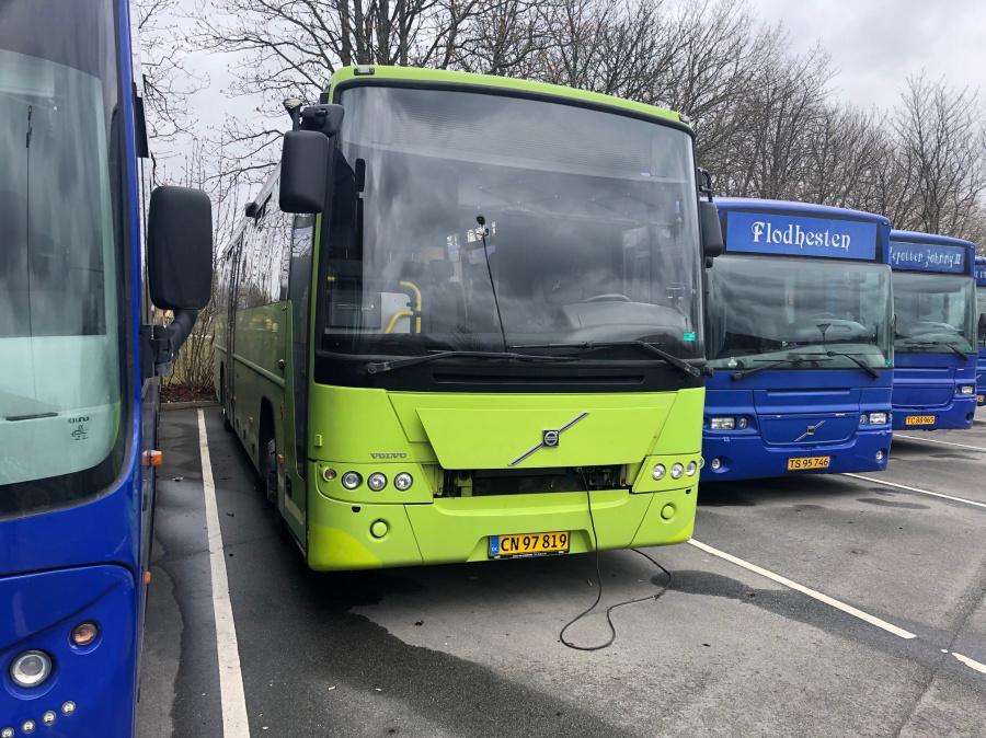 Københavns Kommune børnehavebus CN97819 ved GrøndalsCentret den 1. april 2020
