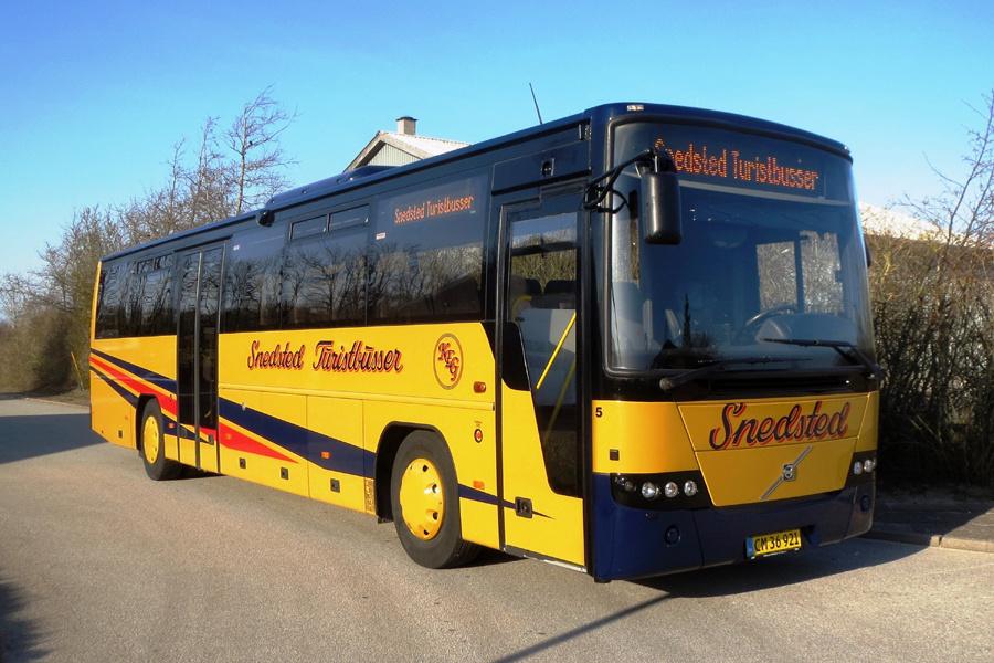 Snedsted Turistbusser 5/CM36921 i Snedsted den 4. april 2020