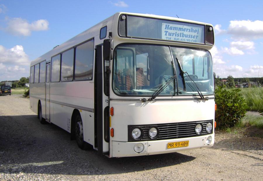 Hammershøj Turistbusser MR93409 i Hammershøj den 14. august 2007
