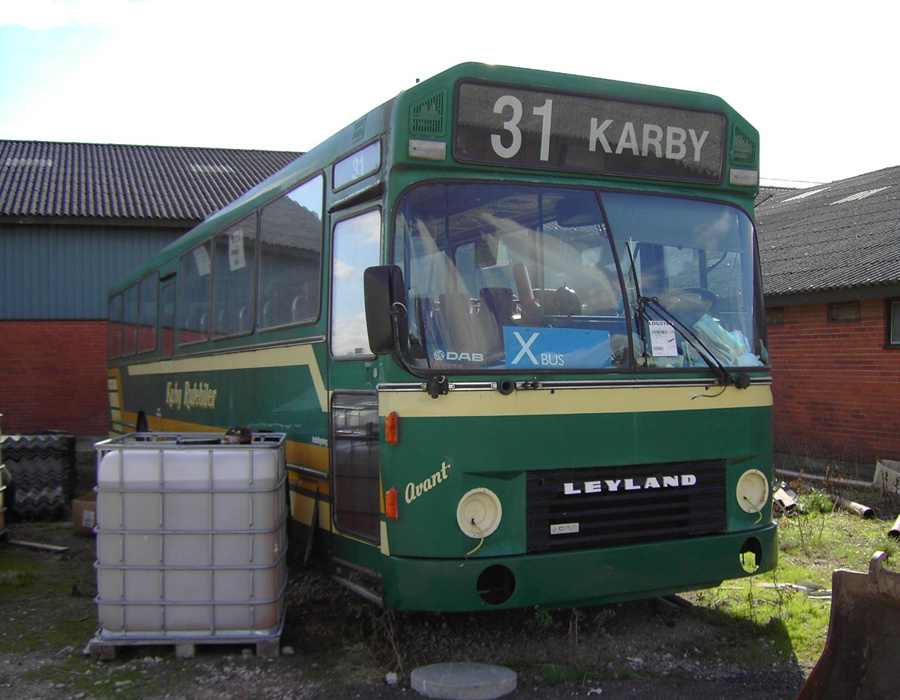 Hammershøj Turistbusser i Hammershøj den 14. august 2007