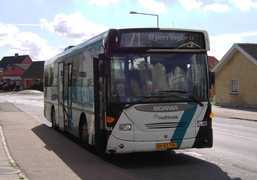 Arriva 2844/SH93791 i Hammershøj den 14. august 2007