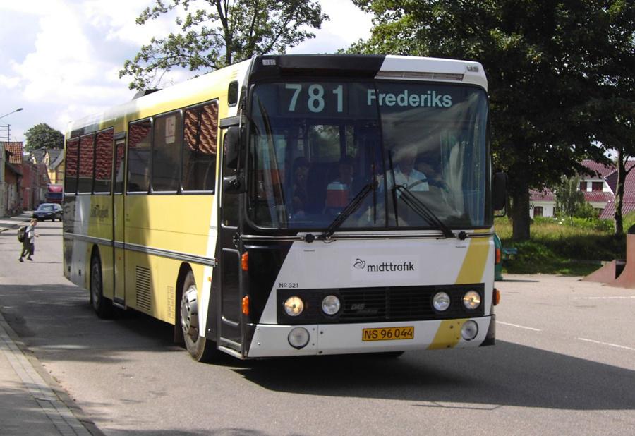 Bent Thykjær 321/NJ96044 i Frederiks den 14. august 2007