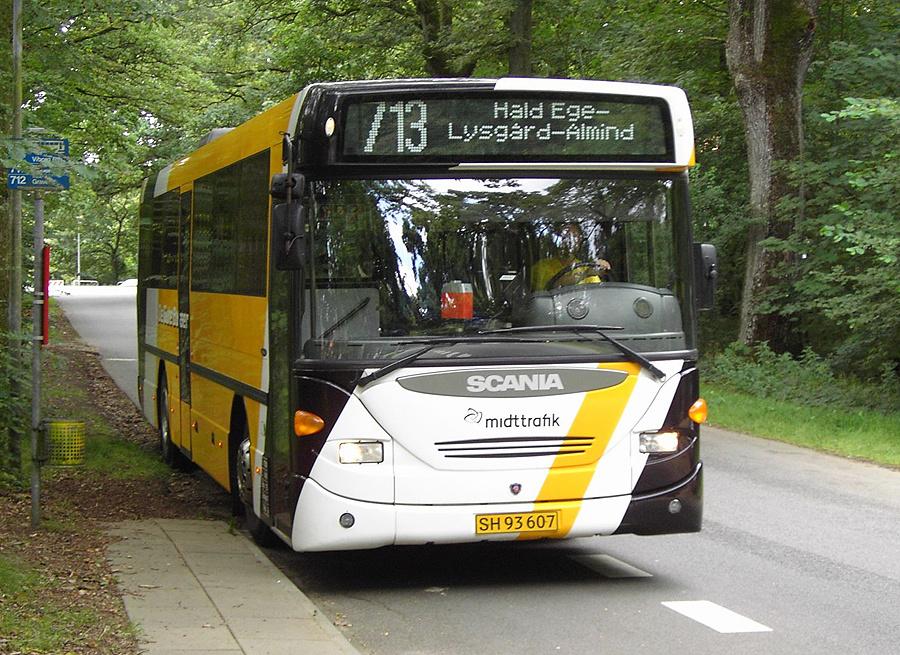 De Gule Busser 22/SH93607 i Hald Ege den 14. august 2007