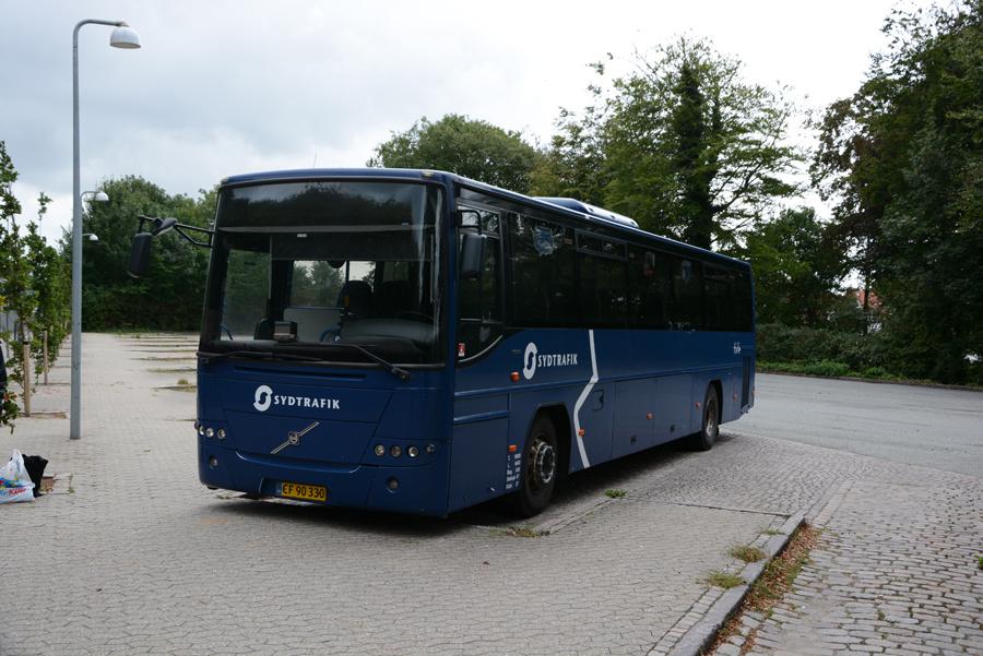 Tide Bus 8820/CF90330 på Ribe Rutebilstation den 18. august 2018