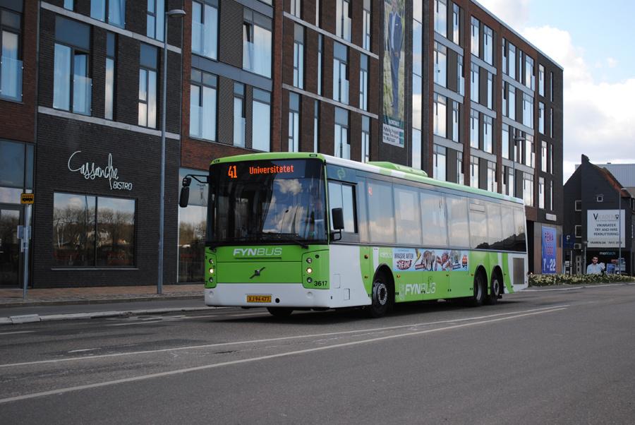 Keolis 3617/XJ94477 på Rugårdsvej i Odense den 13. april 2020