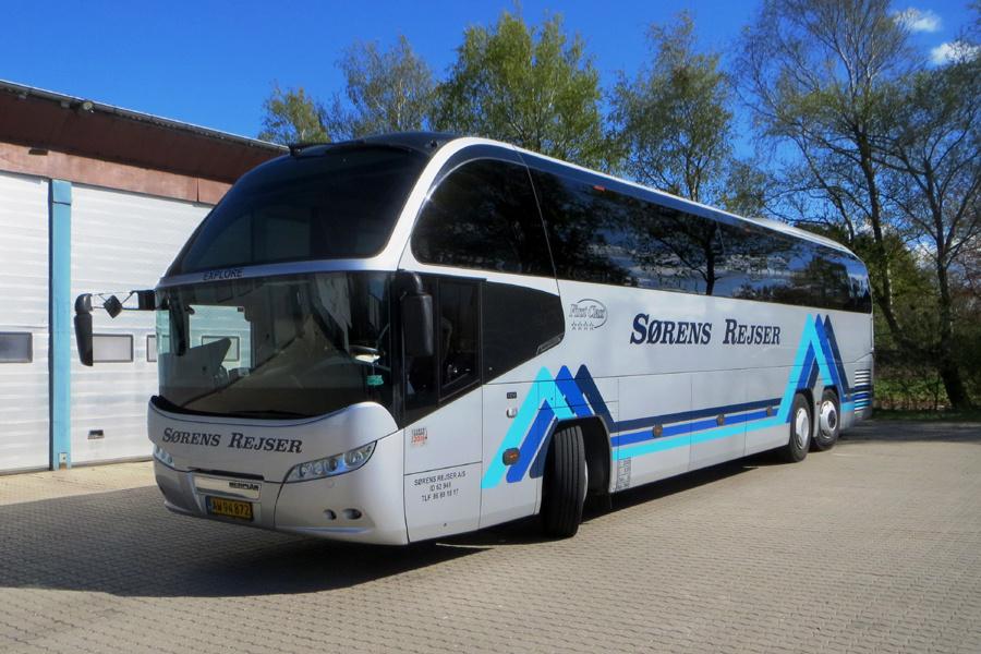 Sørens Rejser AW94872 i Kjellerup den 5. maj 2020