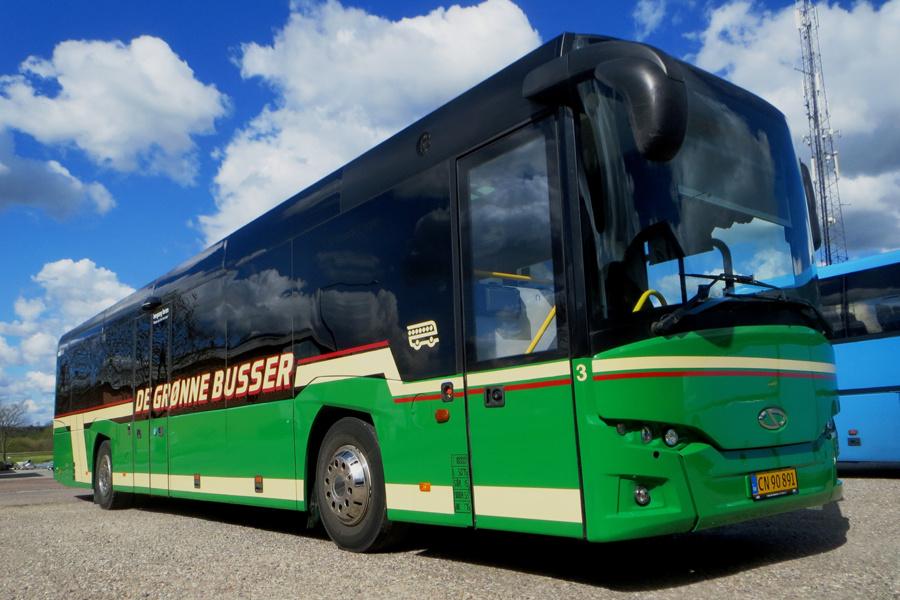 De Grønne Busser 3/CN90891 i Hinnerup den 5. maj 2020