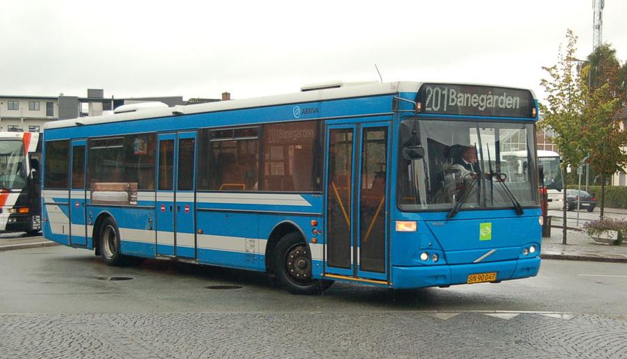 Malling Turistbusser 4025/SN90047 i Odder den 17. september 2008