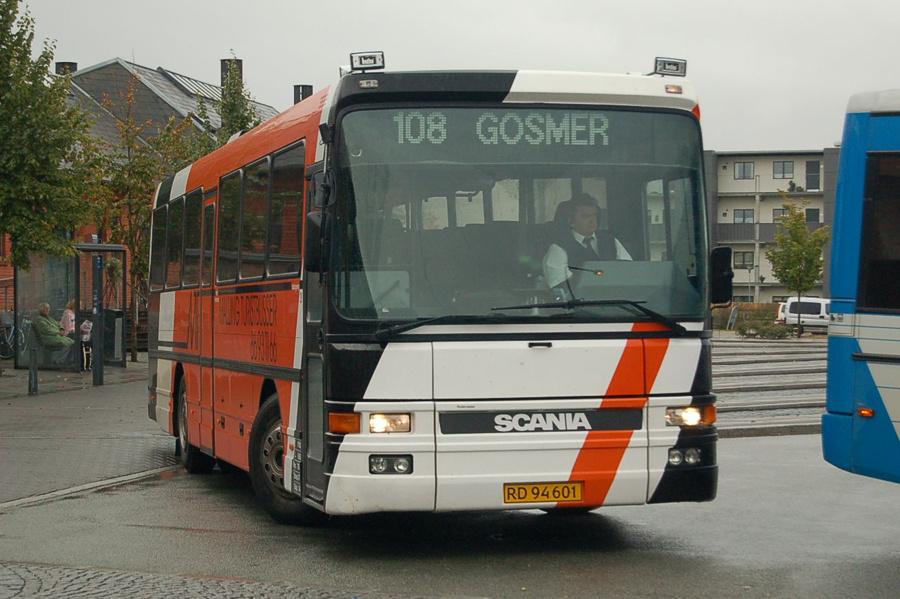 Malling Turistbusser 3/RD94601 i Odder den 17. september 2008