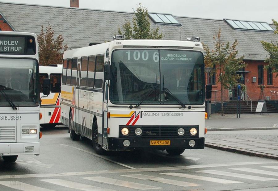 Malling Turistbusser 20/NV93408 i Odder den 17. september 2008